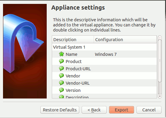 virtualbox-export-appliance-settings