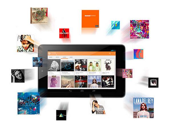 Google Music Digital FIles
