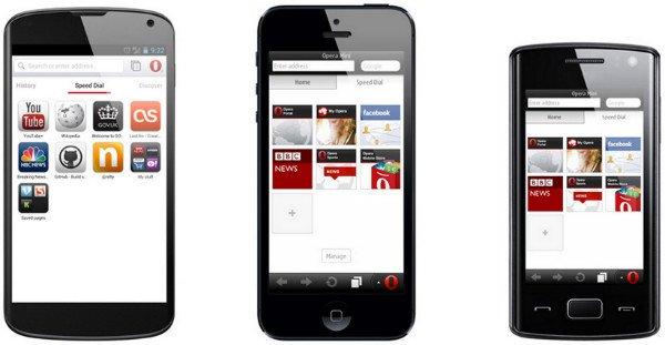 Opera Mobile Browser Web Browser Comparison