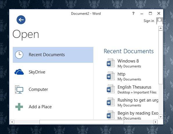 Check computer logins recent files