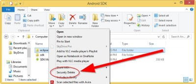 Securely Delete Files in Windows with DeleteOnClick