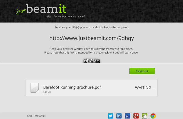 JustBeamIt Link File