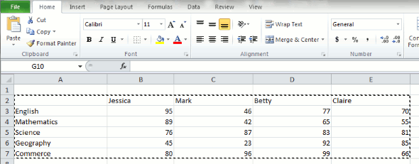 Paste-special-excel-transpose-table-highlighted