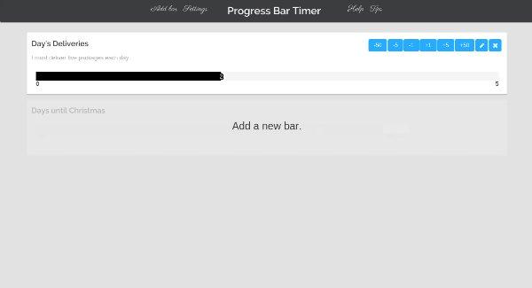Progress Bar Counter Progress