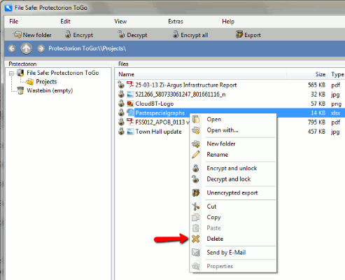 Protectorion-To-Go-Delete-Encrypted-File