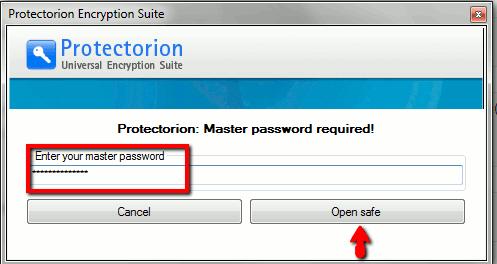 Protectorion-To-Go-Erase-Enter-in-password