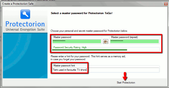 Protectorion-To-Go-Type-In-Password