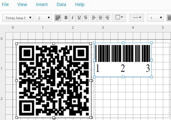 Insert Barcode
