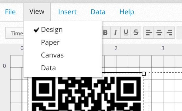 Printable QR Codes Paper View