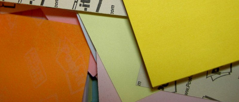 Four Sticky Notes for Chrome Web Applications