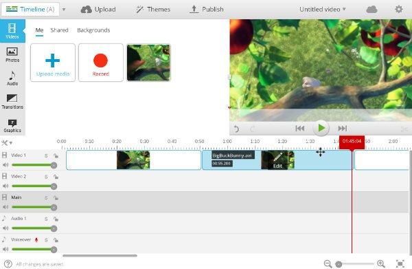 WeVideo Splitting