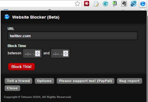 block websites in chrome - Website blocker