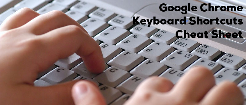 Google Chrome Keyboard Shortcut + Cheatsheet Download