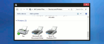 How to Clear the Printer Queue in Windows 8