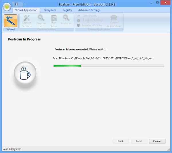 evalaze_postscan_progress