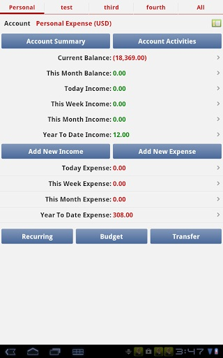 Expense Tracking Apps - Expense Manager