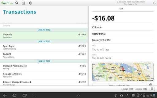 Expense Tracking Apps - Mint