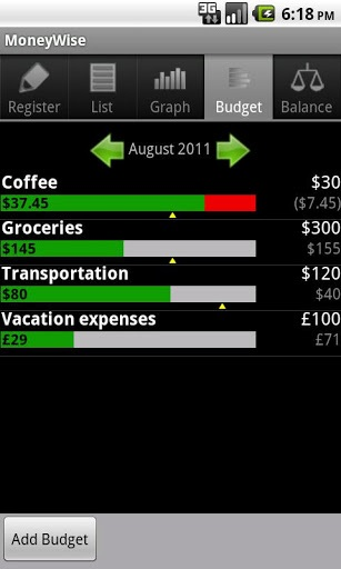 Expense Tracking Apps - Moneywise