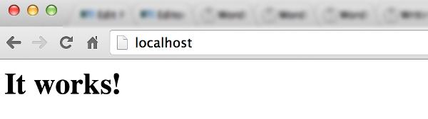 mac-chrome-localhost-apache2-it-works