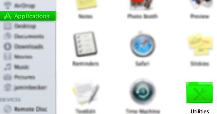 mac-finder-navigate-utilities