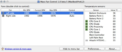 Manage Noisy or Overheating Fans with Macs Fan Control [Mac]