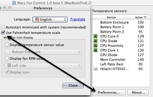 how to stop a mac from overheating