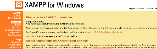 windows-xampp-webpage-configuration
