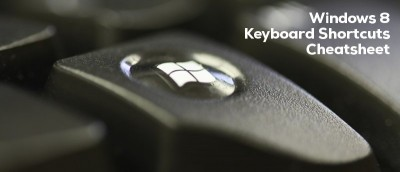 Useful List of Windows 8 Keyboard Shortcut + Cheatsheet Download