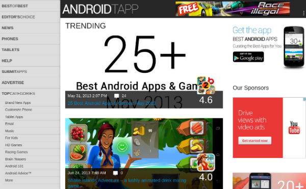 Best Android Apps Website