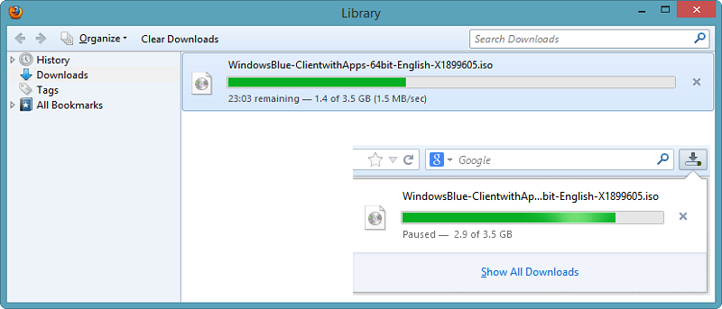Make the Firefox Download Panel More Useful