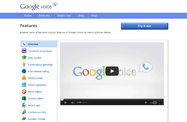 Google Voice Online Phone Number