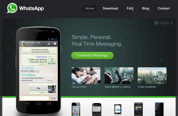 WhatsApp Instant Messaging
