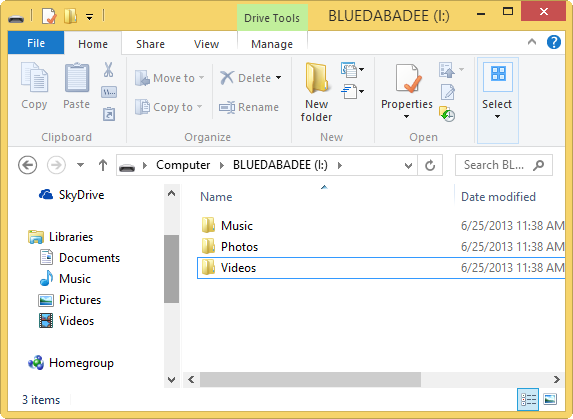 creating-folders-to-mimic-libraries-on-removable-device