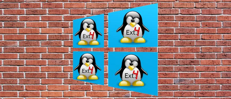How to Access Linux Ext4 Partition From Windows