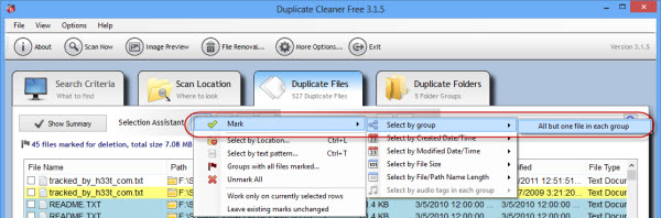 duplicate_cleaner_mark