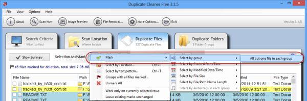 duplicate_cleaner_mark