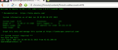 Access SSH Server From the Browser With FireSSH