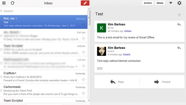 gmail-offline-interface