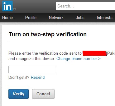 linkedin-two-step-verify