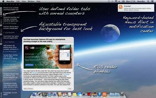 Newsbar for Mac.