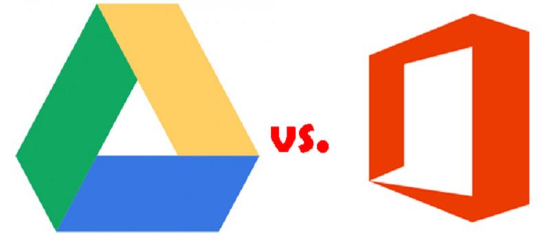 Google Drive vs. MS Office Web Apps