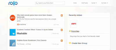Can Rolio Be the Next Google Reader Alternative?