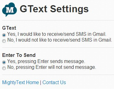 send-sms-gmail-settings