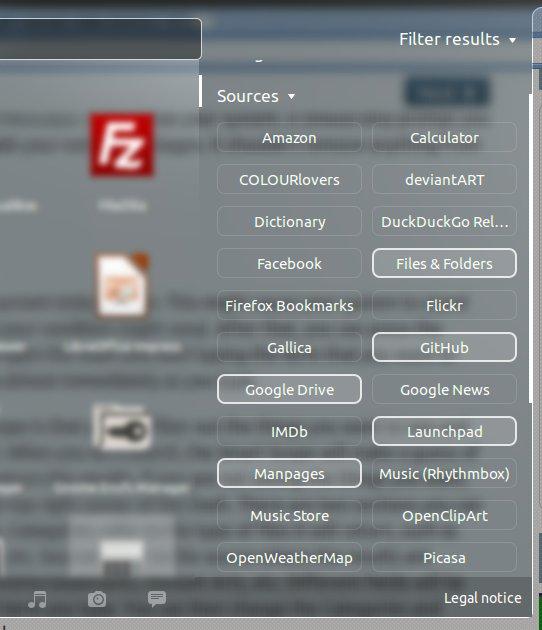 Unity Smart Scopes Filter Sources