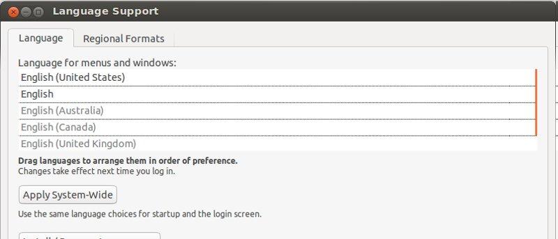 How to Change System Language in Ubuntu