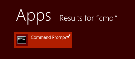 windows 8.1 update command prompt