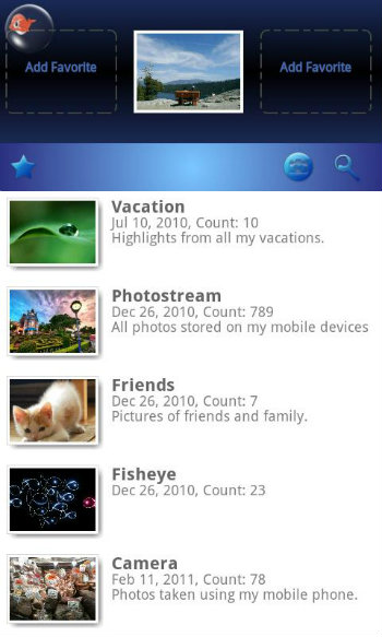 Android Photo Gallery App Alternatives - Fish Bowl