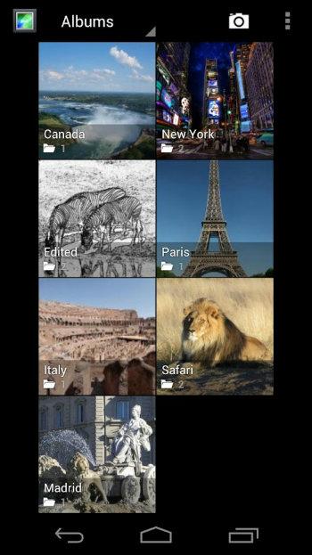 Android Photo Gallery App Alternatives - Gallery ICS