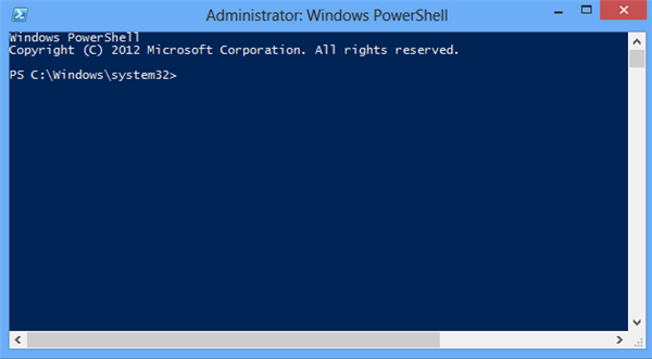 running-powershell