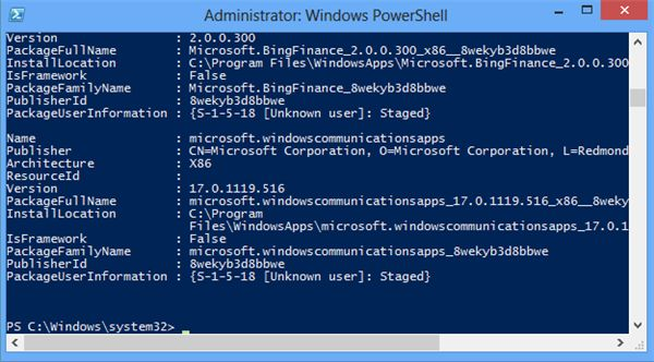 powershell-pull-up-all-default-apps